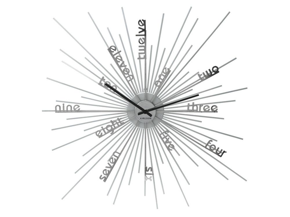 Karlsson One to Twelve Wall Clock