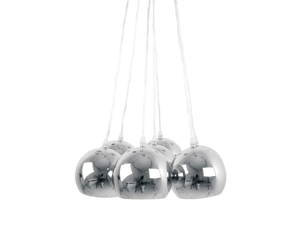 Big Bundle Chrome Ball Ceiling Light