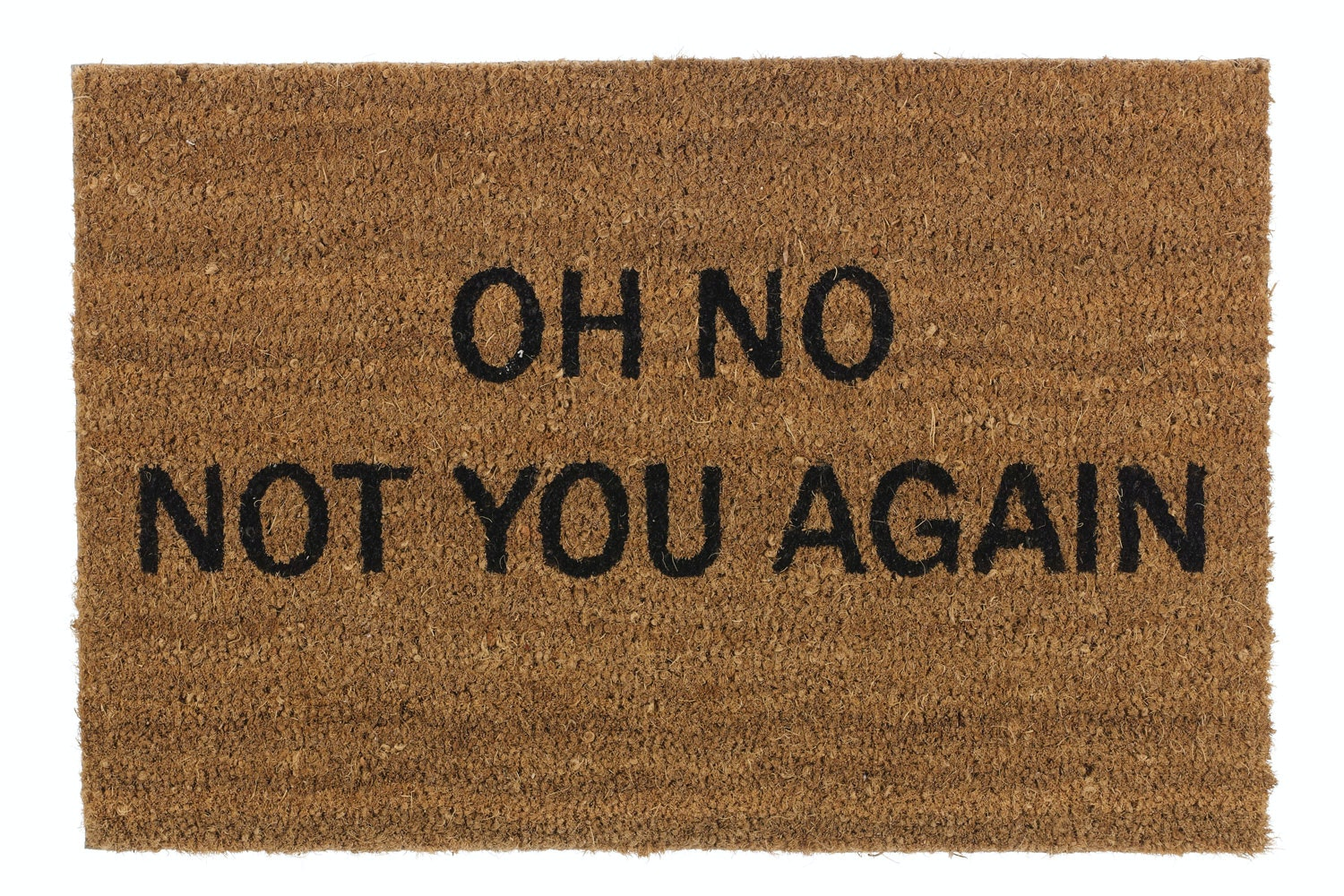 'Not You Again' Doormat