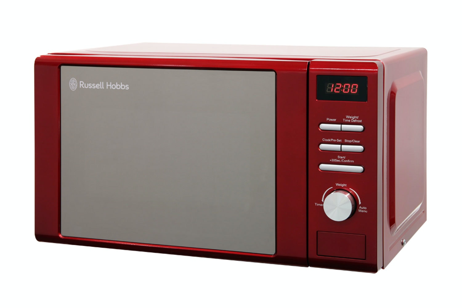 Russell Hobbs 20L 800W Microwave | Red