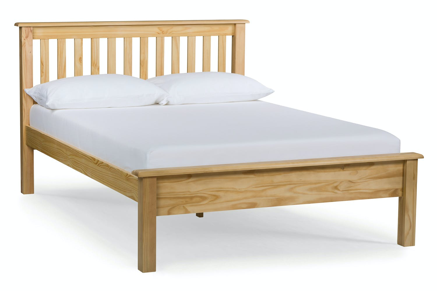 Shaker double bed frame 4ft6 ireland for Double mattress