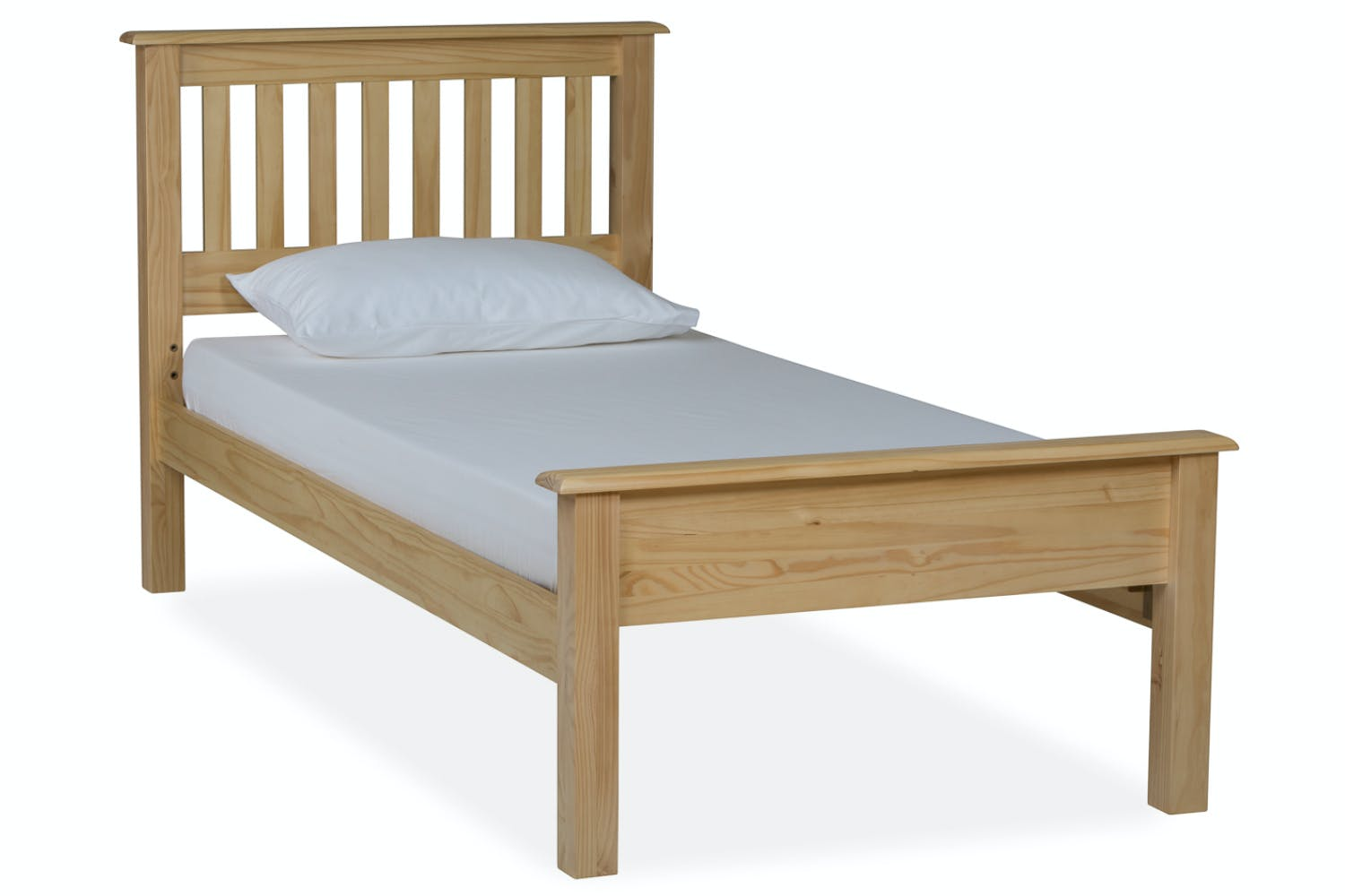 Shaker single bed frame 3ft ireland for Bed pictures photos