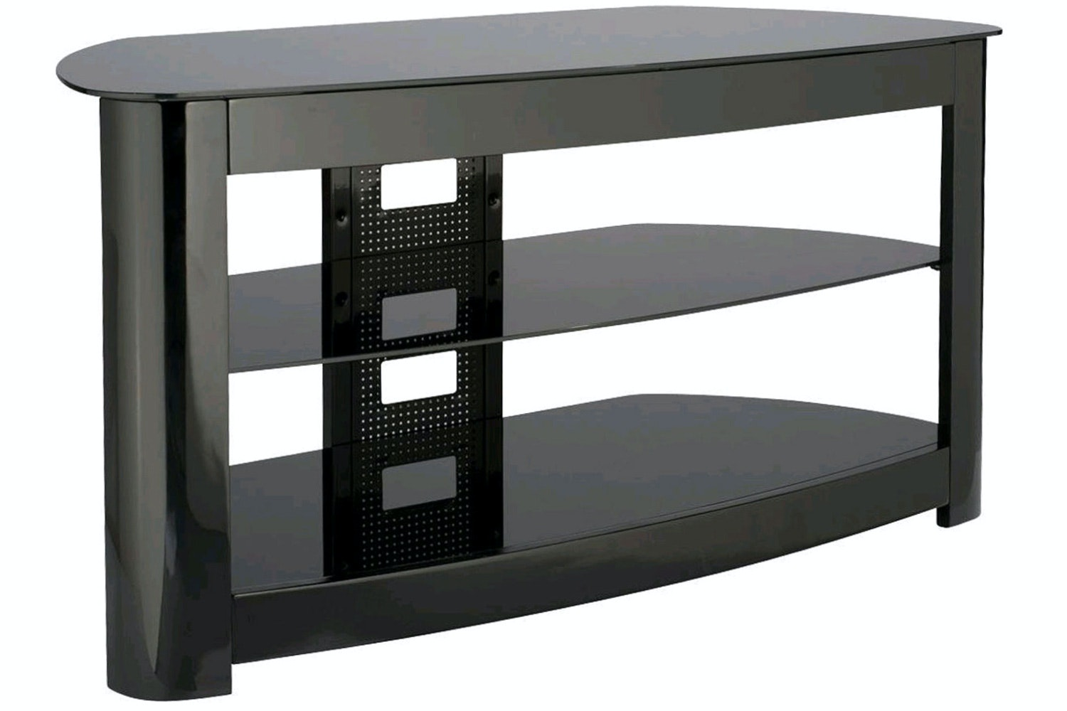 "Sanus Audio Video Stand - Fits AV Components and TVs up to 56"" Black 
