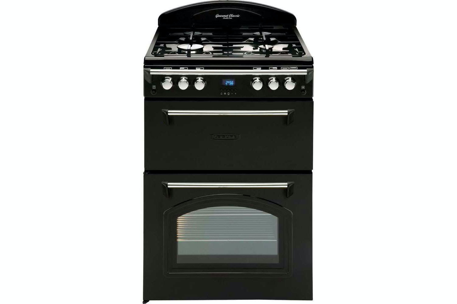Leisure 60cm Gas Cooker | GRB6GVK | Black
