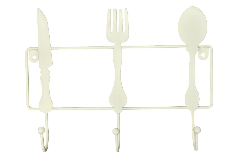 Kitchen Hooks Cream Cutlery