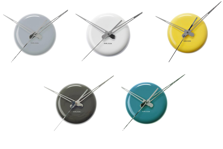 Ceramic Dot Wall Clock