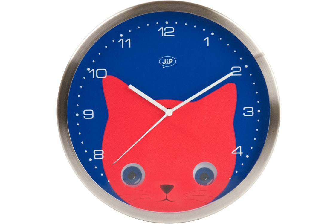 Children's Wall Clock | Peekaboo Cat