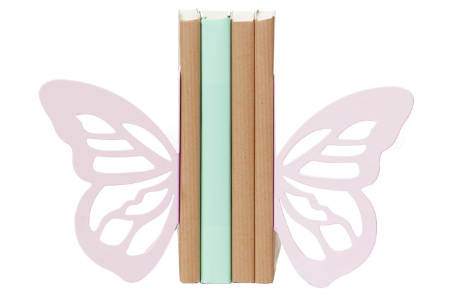Butterfly Bookend | Pink