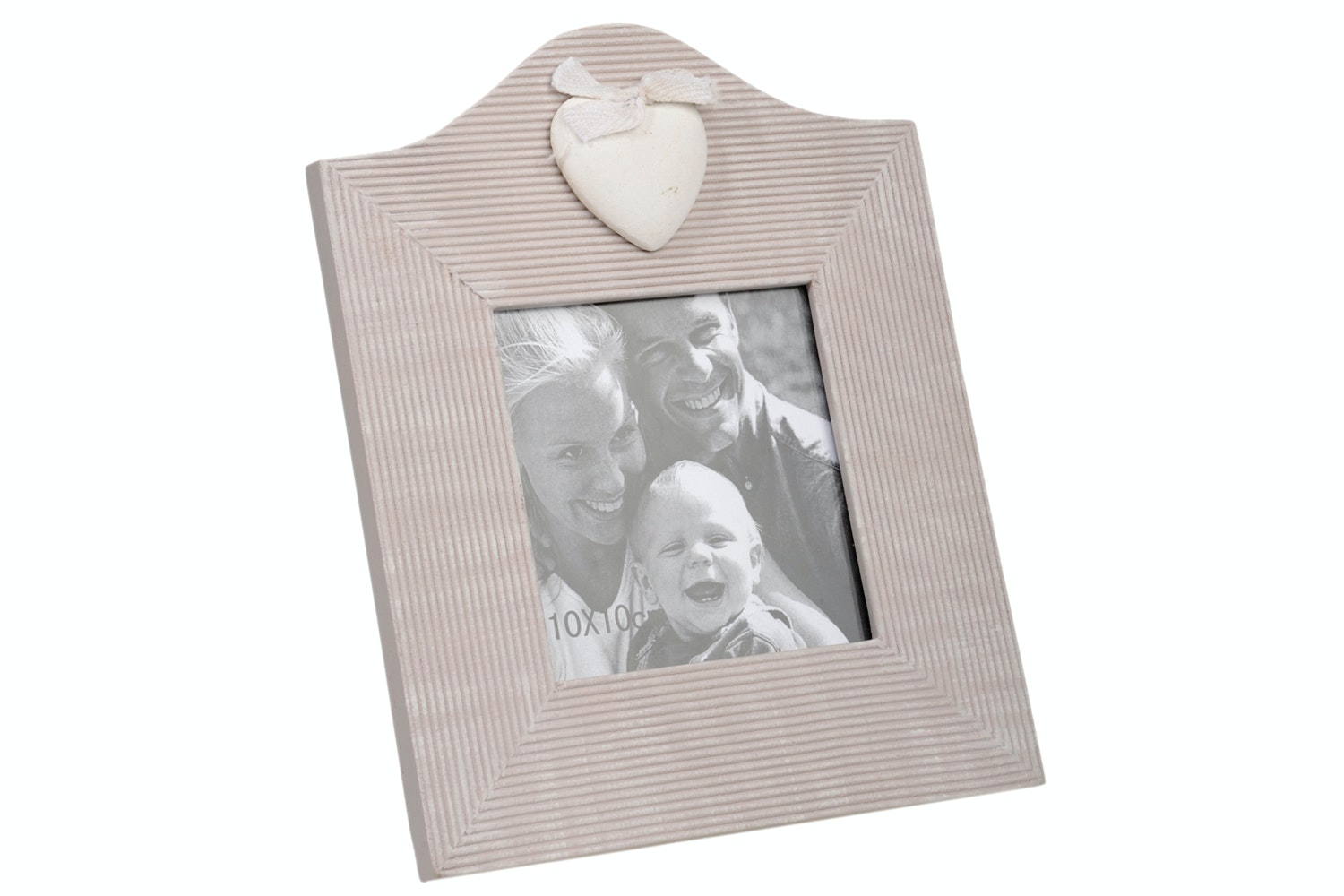 Pink Heart Photo Frame
