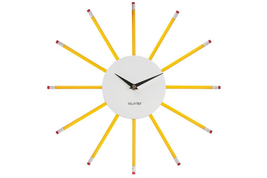 Pencil Wall Clock