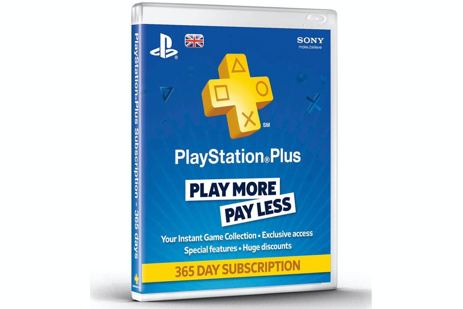 Playstation Plus | 365 Day Subscription