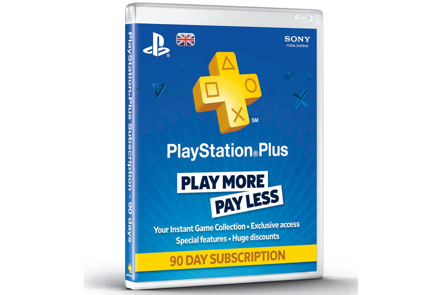 Playstation Plus | 90 Day Subscription