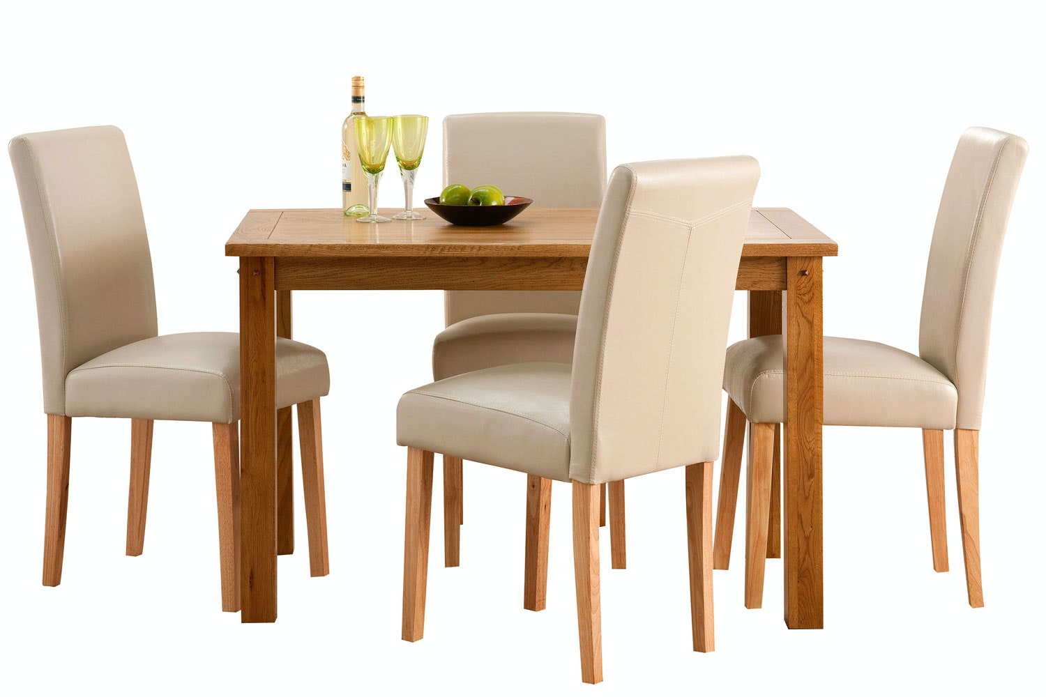 Portman 5-Piece Oak Dining Set