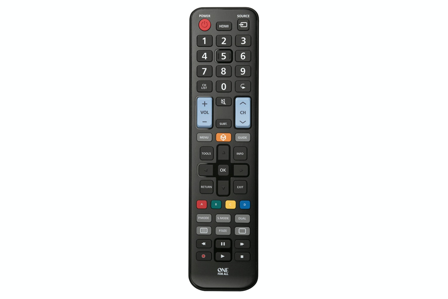 One for All Samsung Replacement Remote Control | URC1910