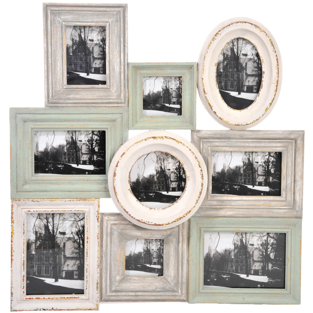 9 Photo Frames Collage