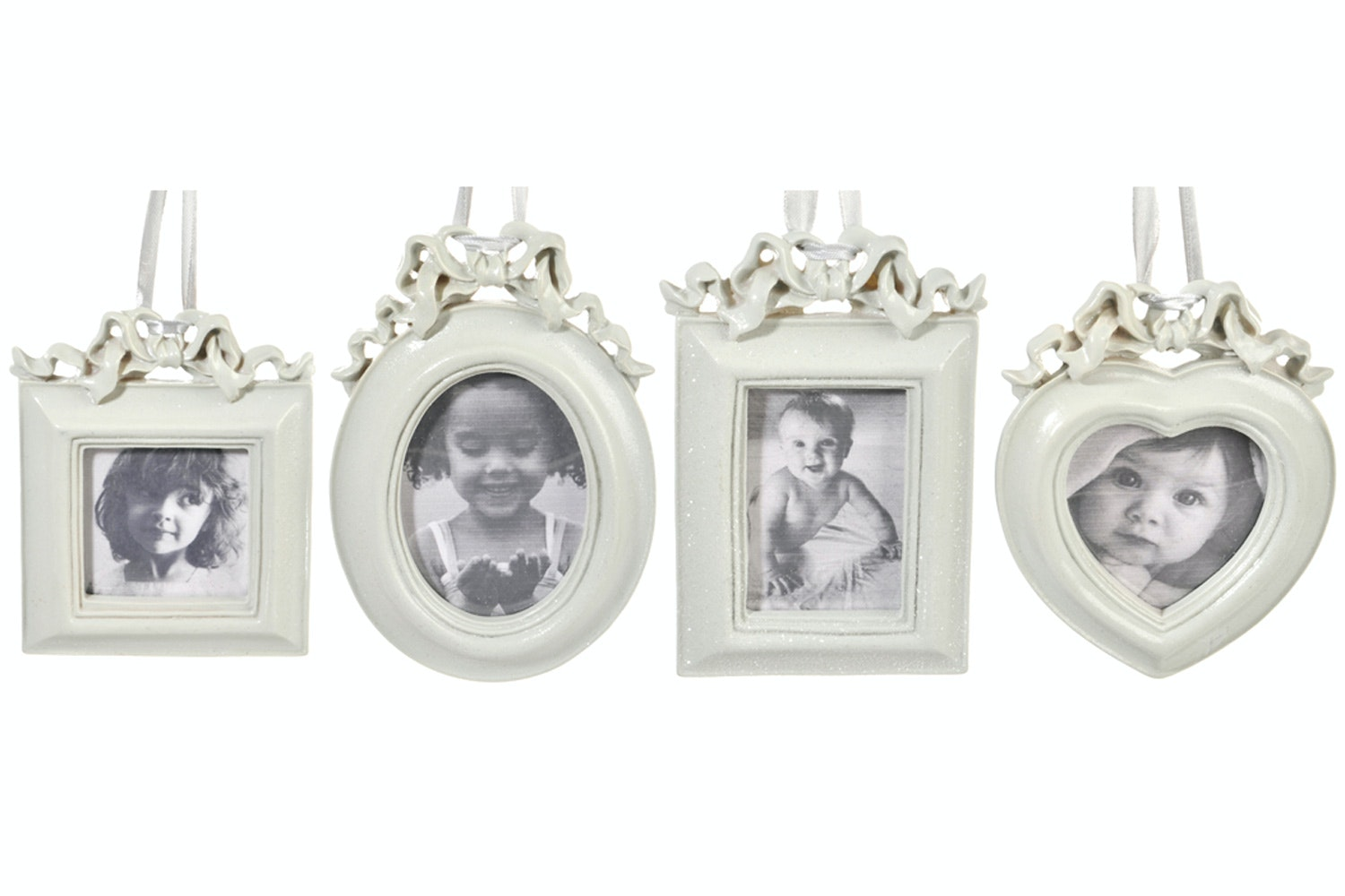 Rustic Bow Photo Frame