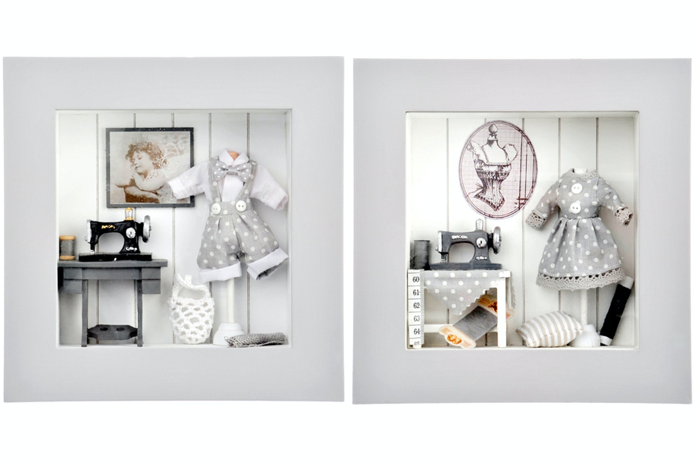 3D Wall Art in a Frame