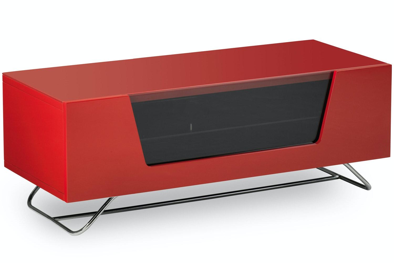 Alphason Chromium Red TV Stand | 1000mm