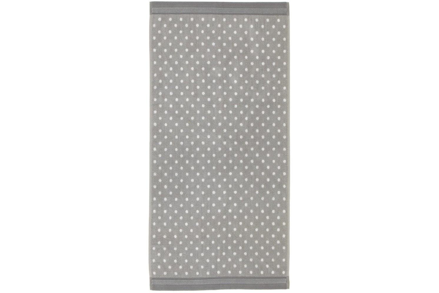 Spotty Hand Towel Grey | Jigsaw