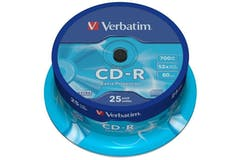 Verbatim CD-R Extra Protection 25 Pack | 43432