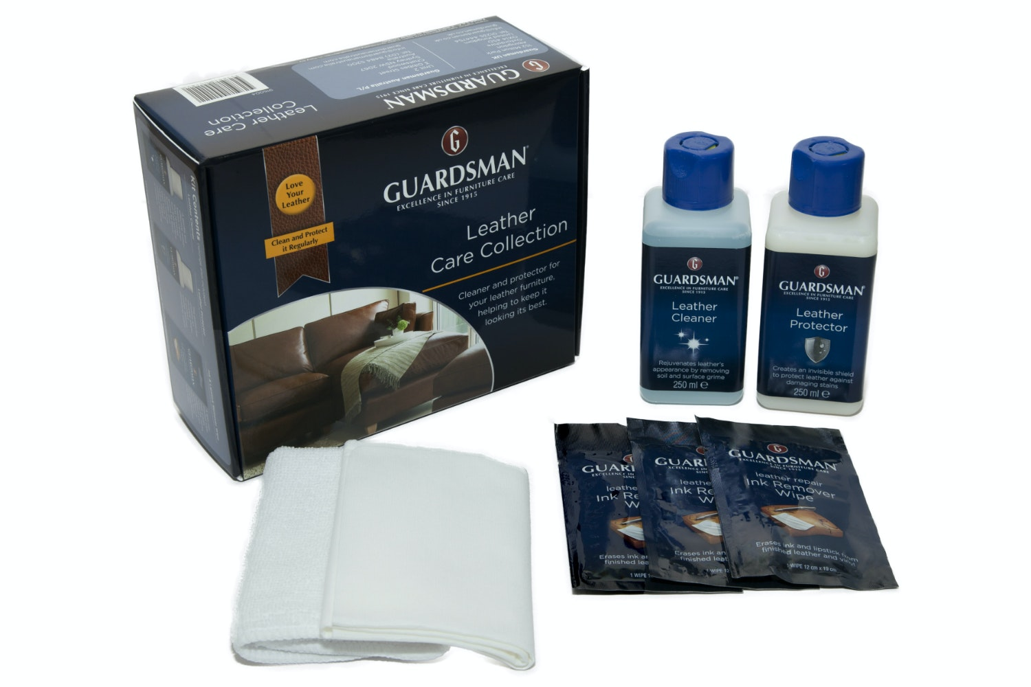 Guardsman Leather Care Collection