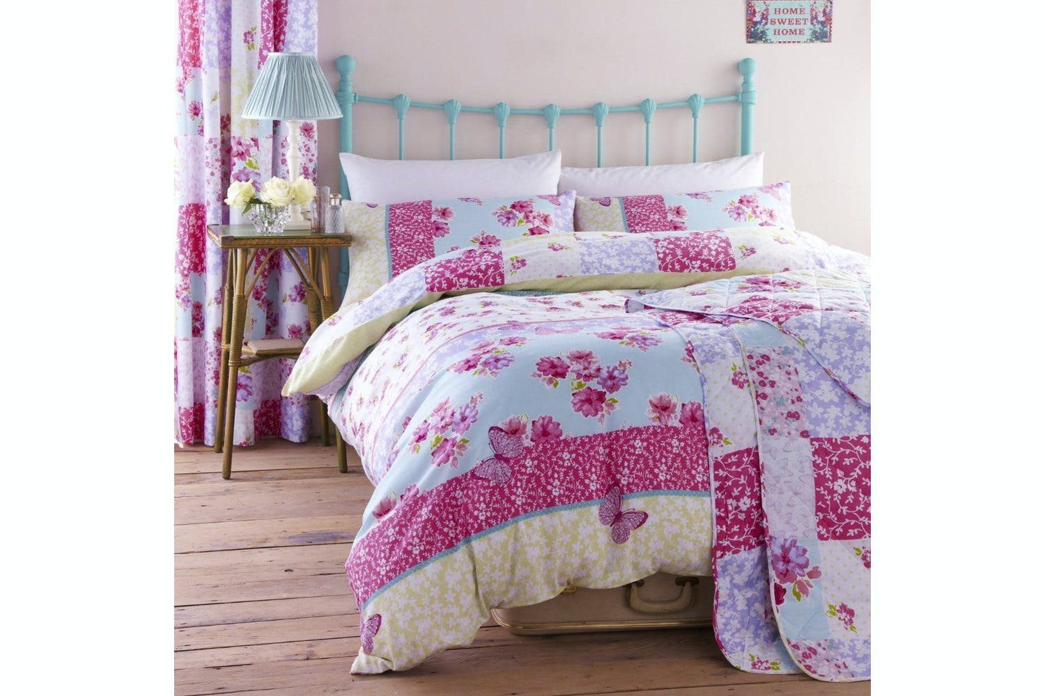 Gypsy Patchwork King Size Duvet Cover | 5ft
