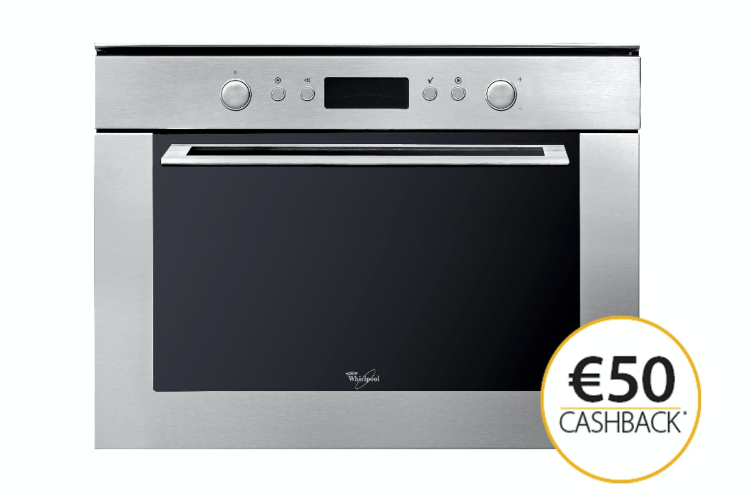 Whirlpool 40L 900WBuilt In Combination Microwave | AMW820/IX | Stainless Steel
