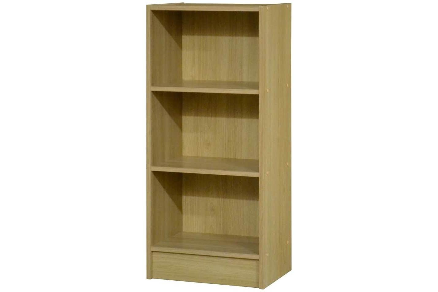 Benny Bookcase Low Narrow | Oak