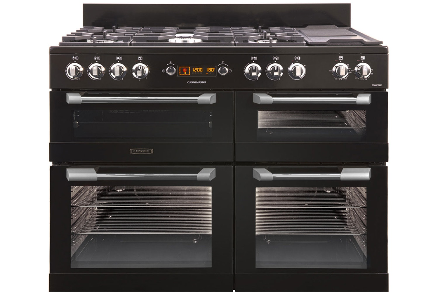 Leisure CuisineMaster 110cm Dual Fuel Range Cooker | CS110F722K