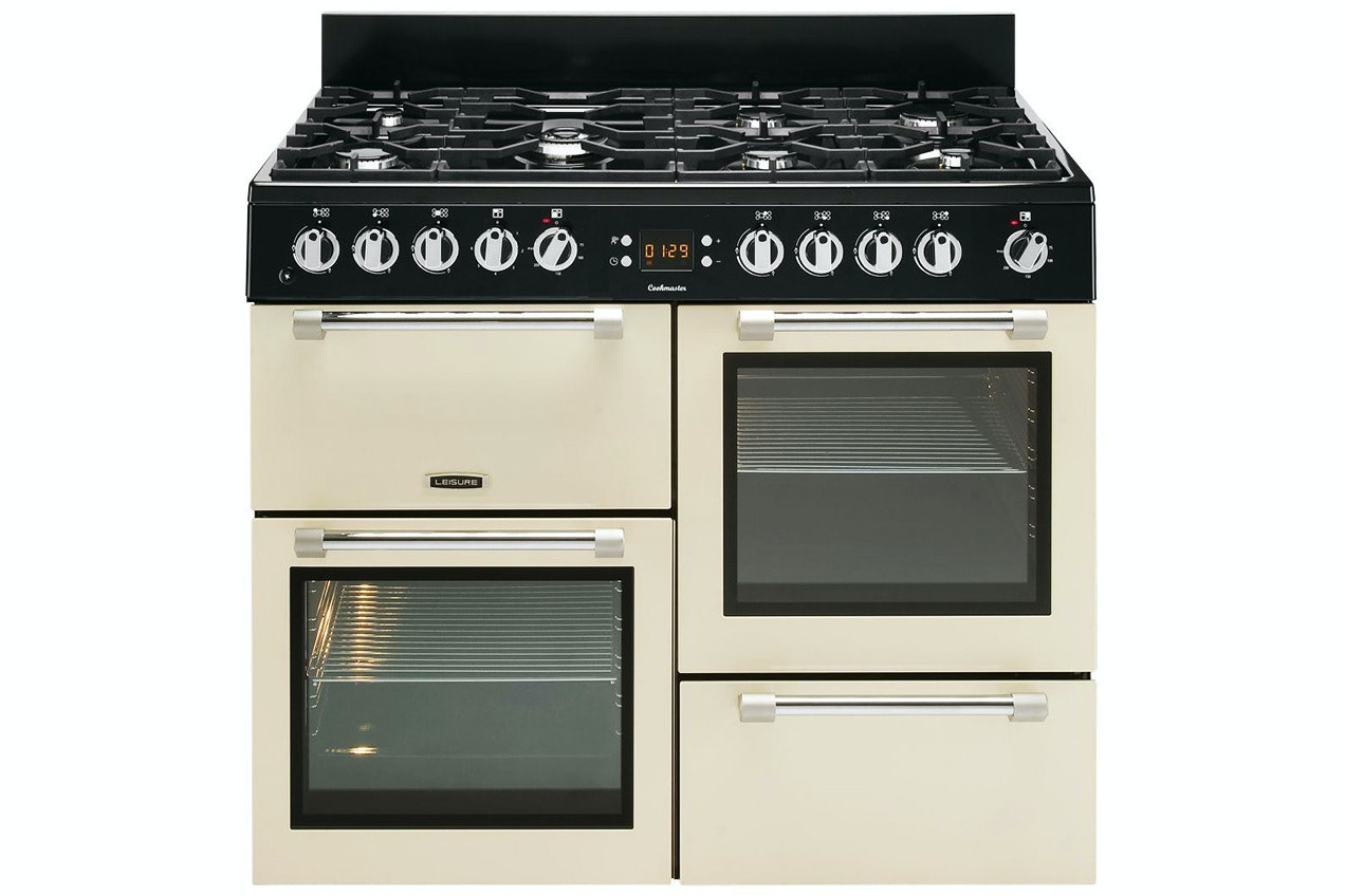 Leisure Cookmaster 100cm Dual Fuel Range Cooker | CK100F232C