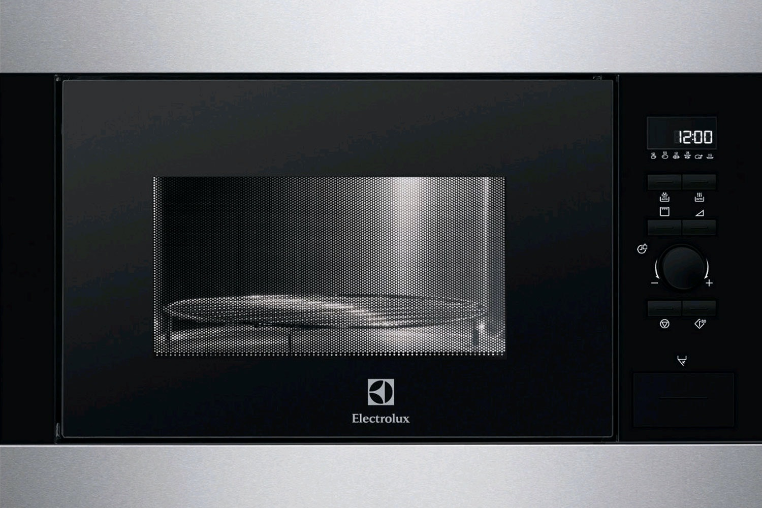 Electrolux 26L 900W Built In Microwave | Stainless Steel & Black