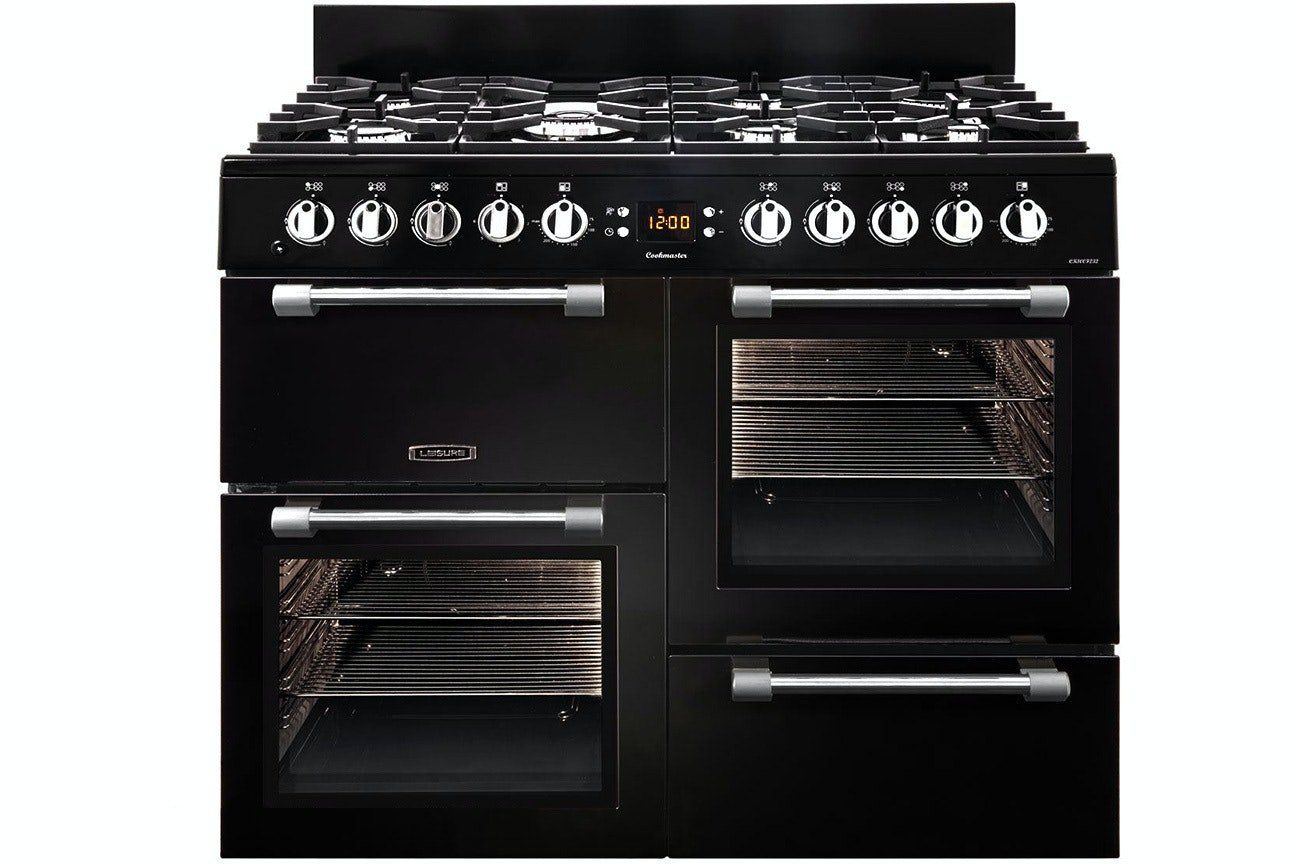 Leisure Cookmaster 100cm Dual Fuel Range Cooker | CK100F232K | Black
