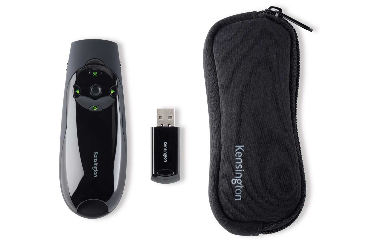 Kensington Wireless Presenter Remote Control With Green Laser