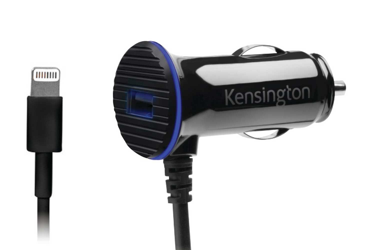 Kensington PowerBolt™ Dual Car Charger with Lightning Cable