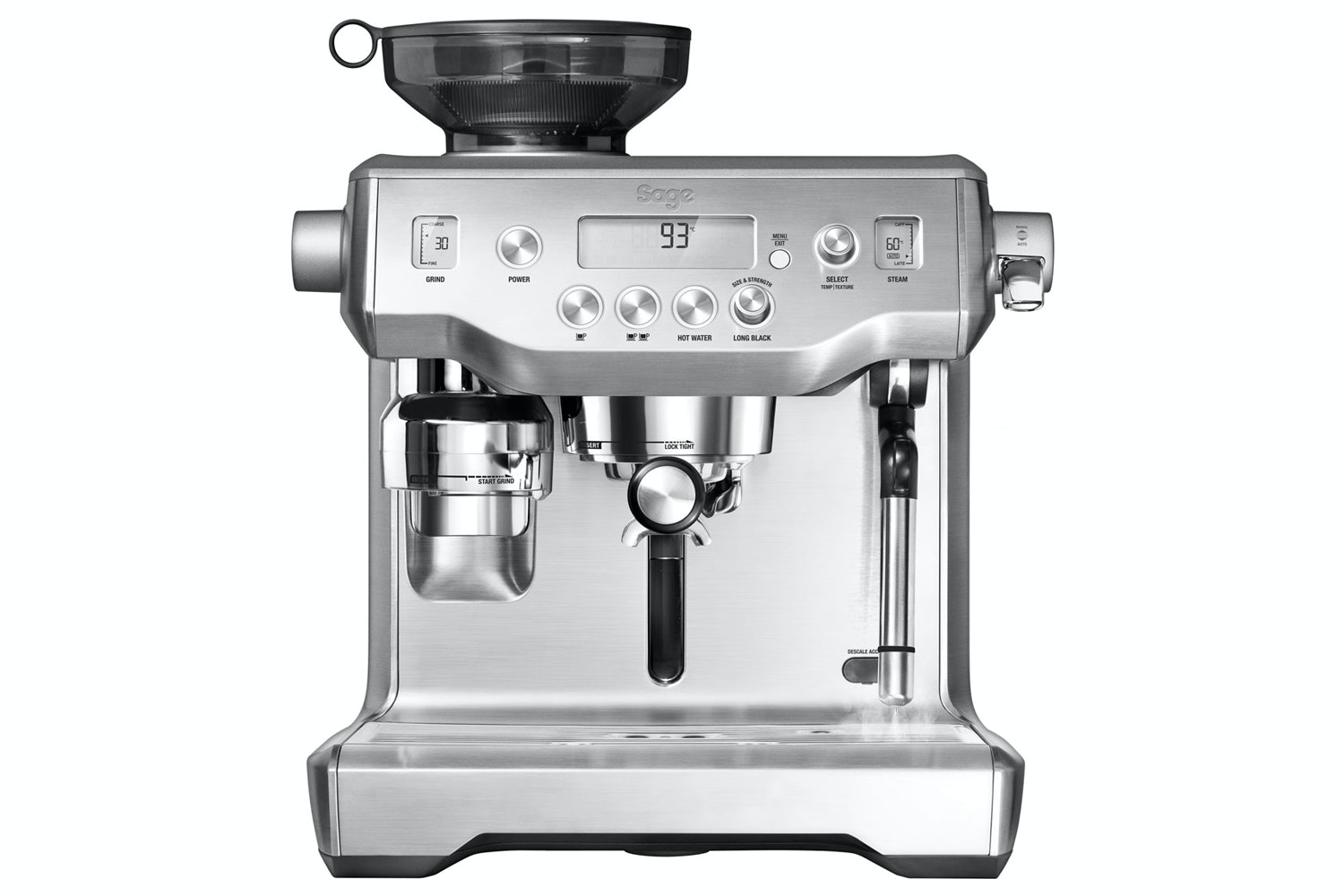 Sage Oracle Coffee Machine | BES980UK | Stainless Steel