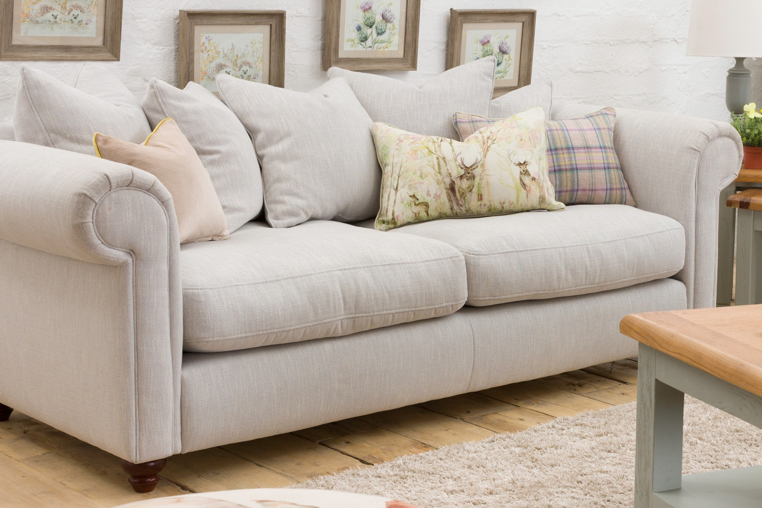Teya 3 Seater Sofa