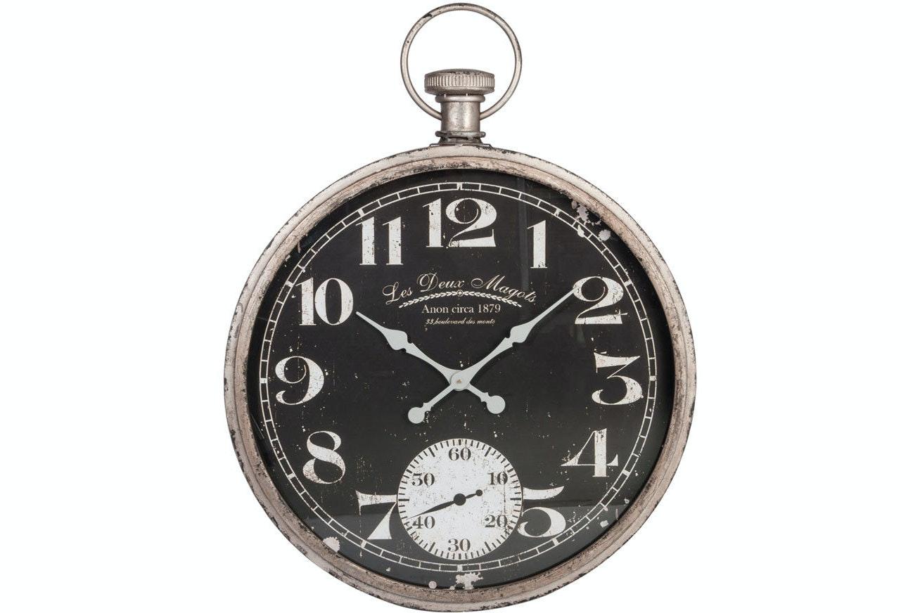 Le Deux Magot Vintage Fob Clock   Cream
