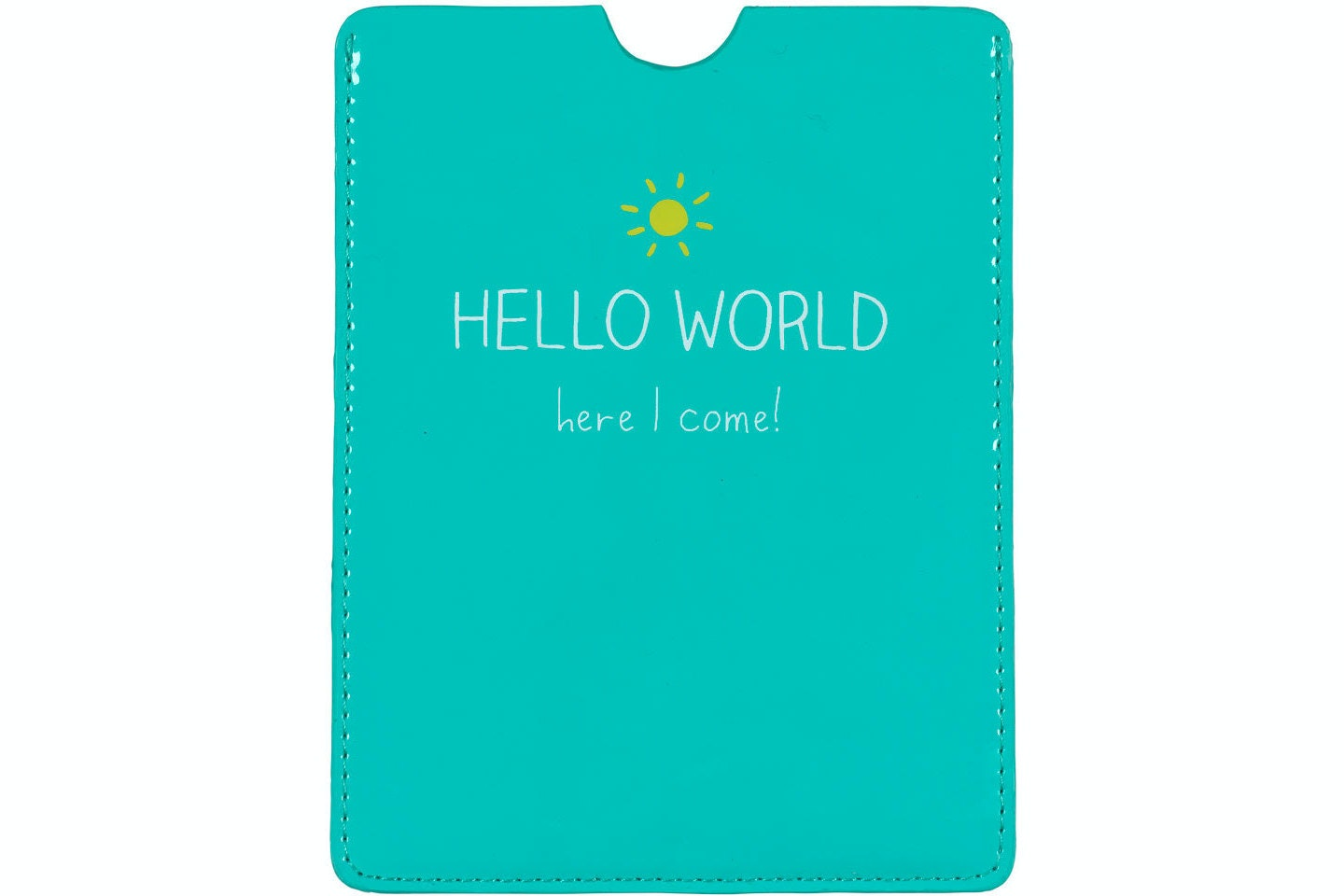 Hello World Passport Cover