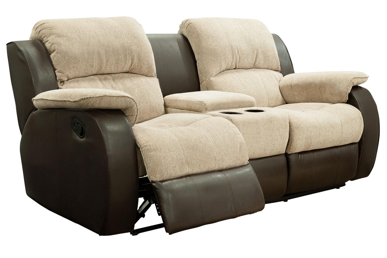 Kayde Console Recliner Sofa