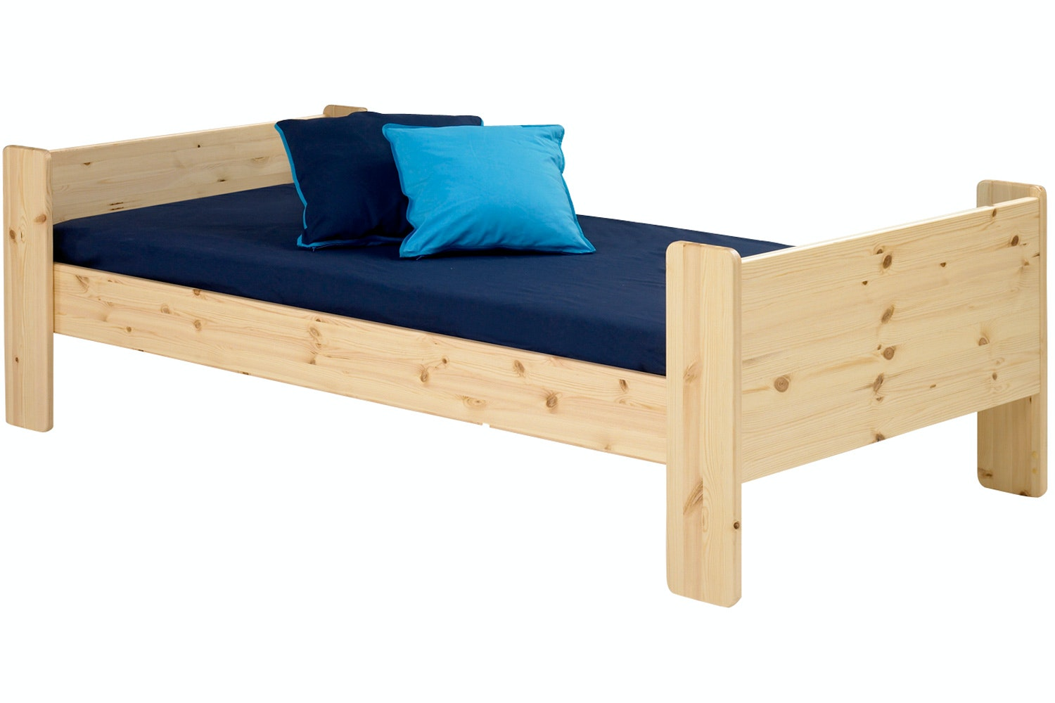 Popsicle Single Bed Frame Natural