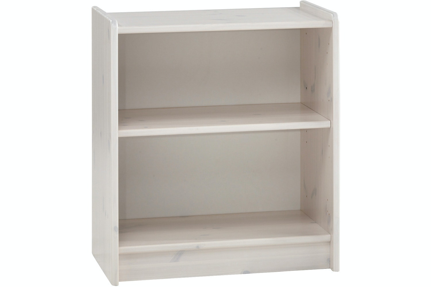 Popsicle Low Bookcase White Wash