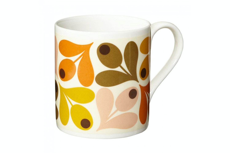 Orla Kiely Acorn Mug | Orange