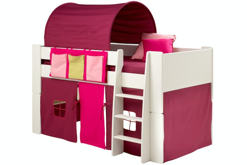 Popsicle Fabric Tunnel for Midsleeper Bed | Purple