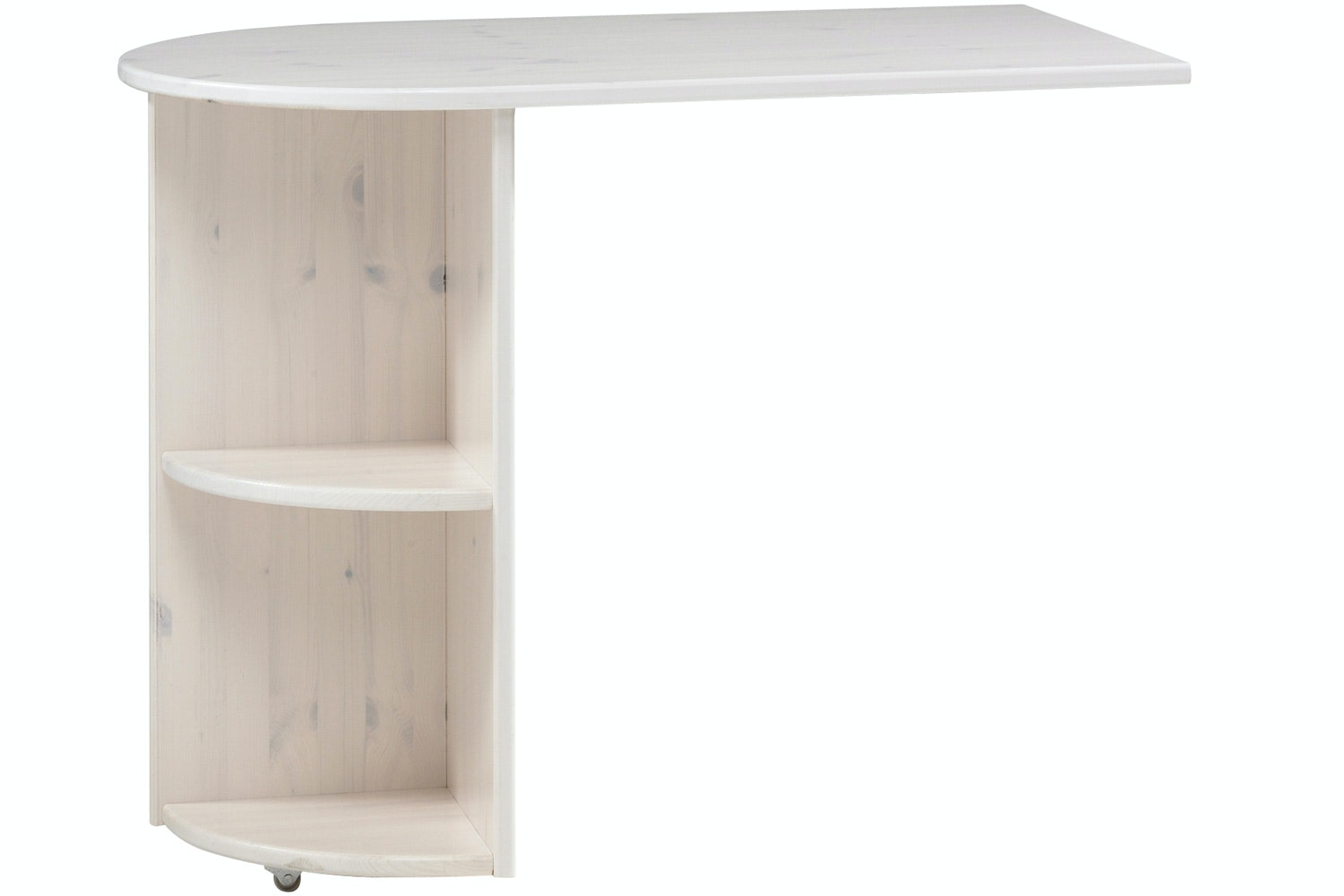 Popsicle Pull out Desk White Wash