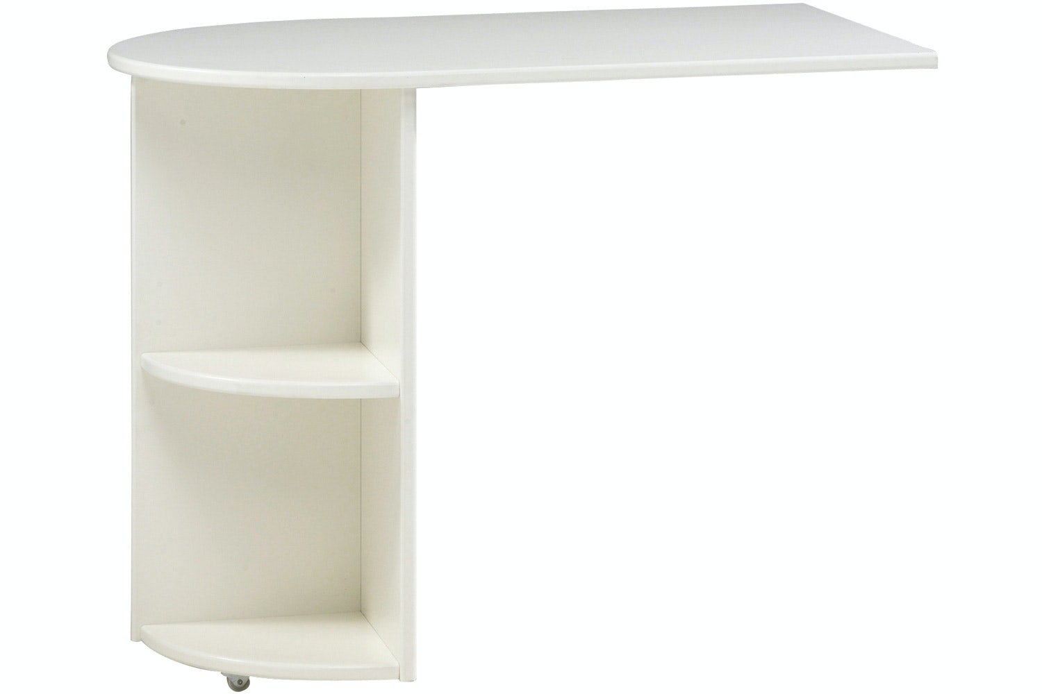 Popsicle Pull Out Desk | White