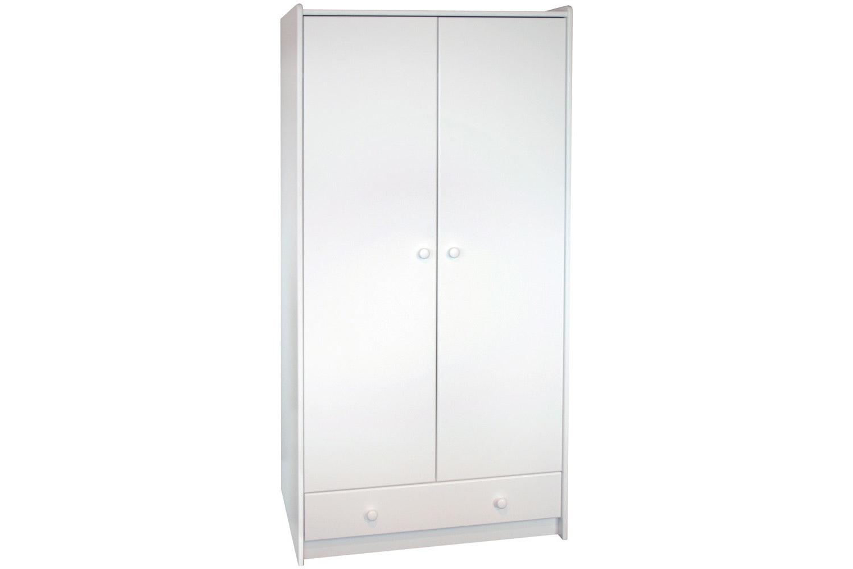 Popsicle Tall Wardrobe White