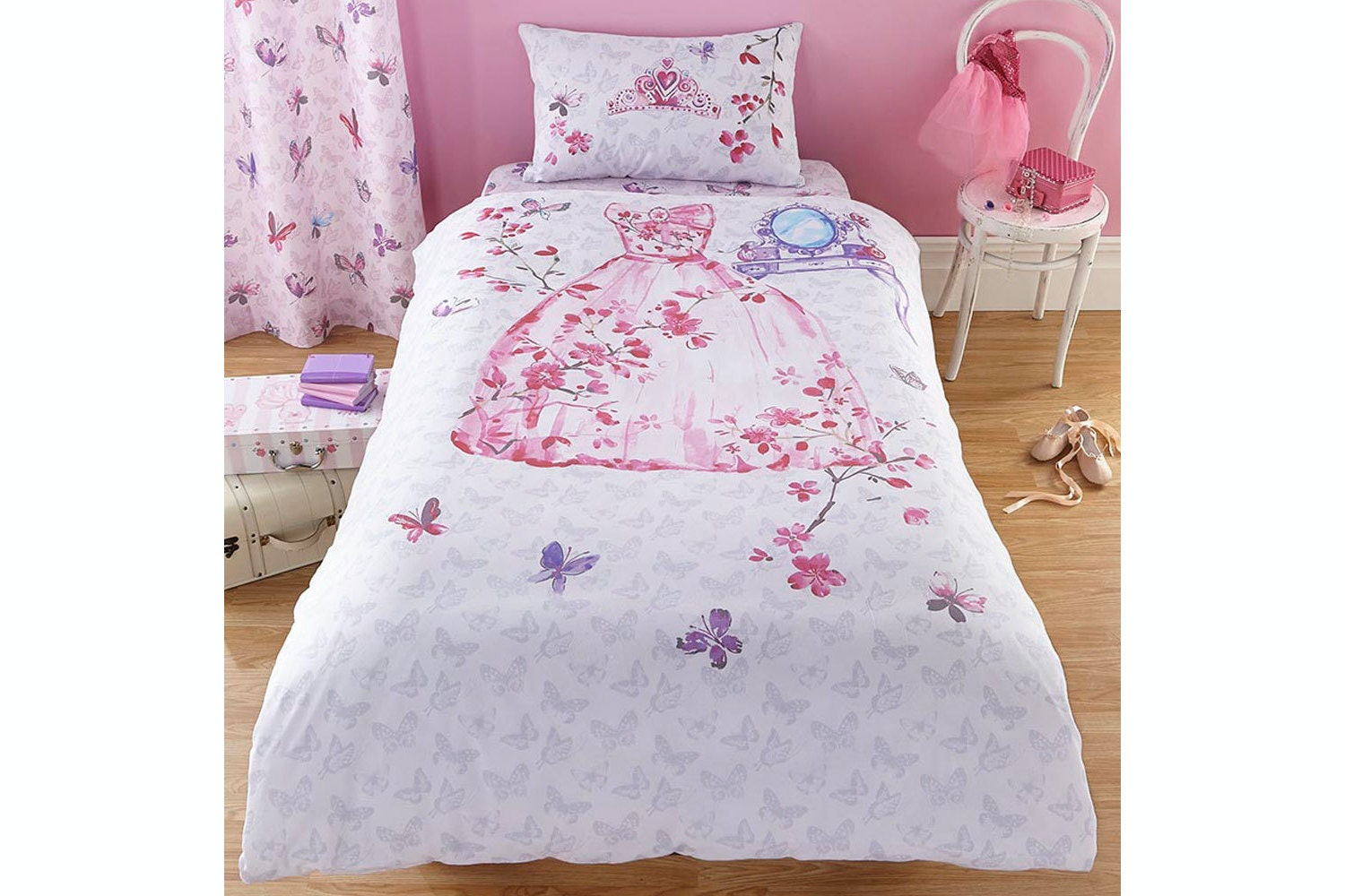 Glamour Princess Single Duvet Set