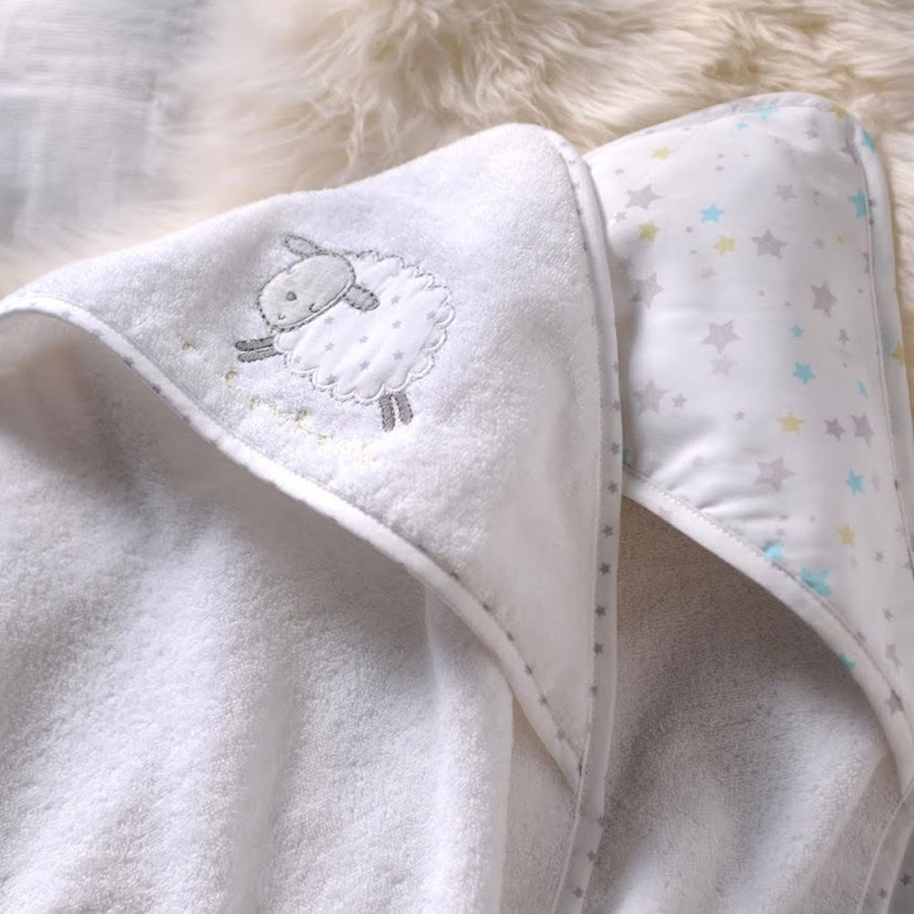 Counting Sheep Hooded Cuddle Robes