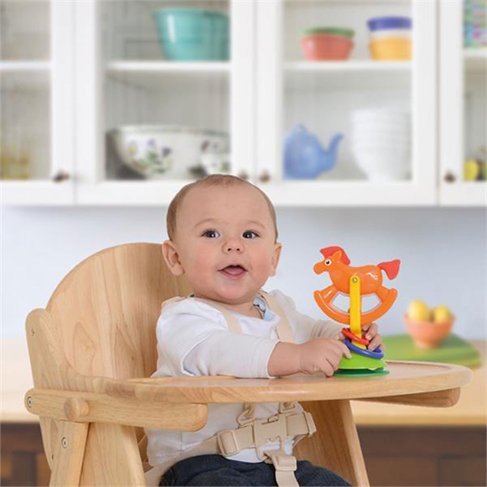 Wooden Folding Highchair