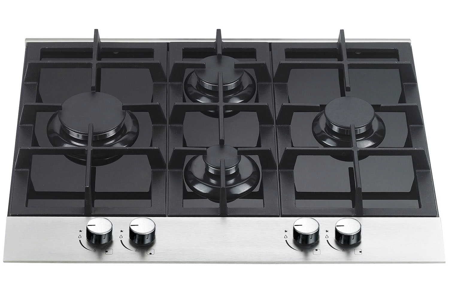 Cata 60cm Gas Hob on Glass | GHDFF60ALGG